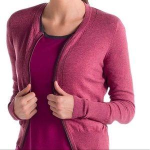 Lole Cardigan Zip Up Sweater XS